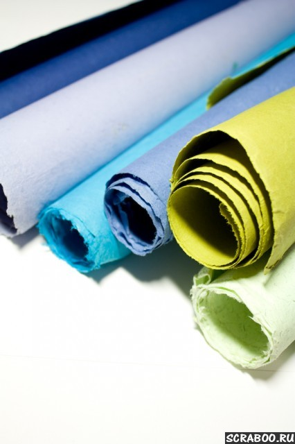 Товары для скрапбукинга - наборы бумаги