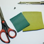 Как сделать красивые цветы из небольших кусочков бумаги. Третий способ