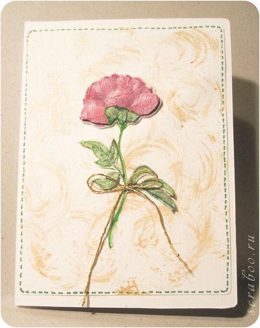 Декупаж открытки из салфеток, дню рождения мужчине