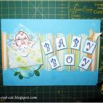 Мастер-класс для начинающих: «Открытка на рождение мальчика»