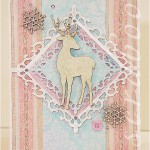 Новогодняя открытка «Серебряное копытце»
