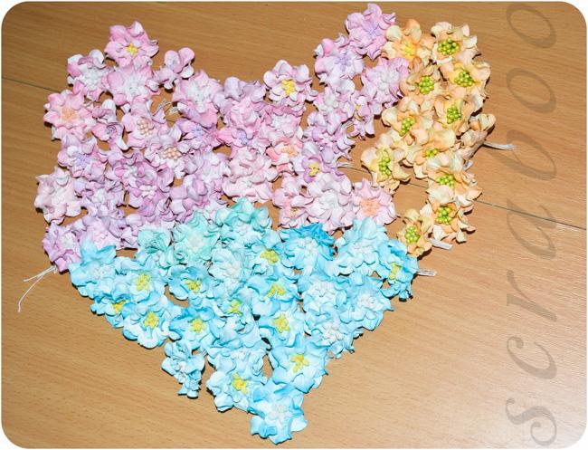 Как сделать цветок из бумаги для скрапбукинга своими руками? 31