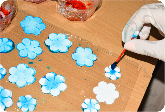 Мастер класс цветы из бумаги для скрапбукинга своими руками 8