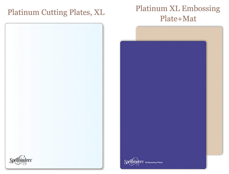 Platinum XL Embossing Plate и Mat
