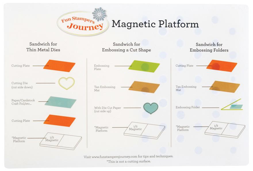 Магнитная платформа для Platinum's Versa Cut