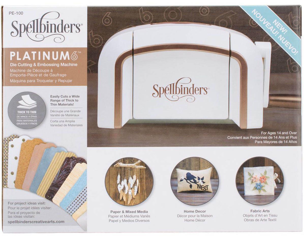 Машинка для вырубки Spellbinders Platinum 6.0