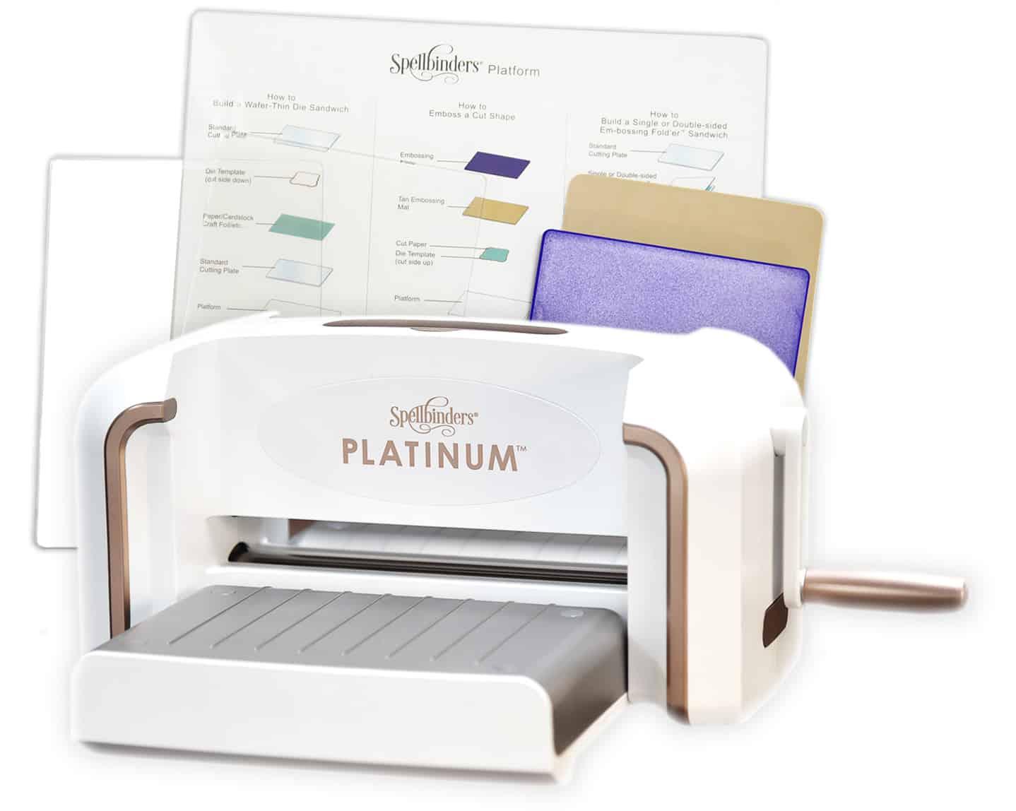 Машинка для вырубки и тиснения Platinum's Versa Cut