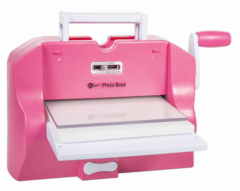 Машинка для вырубки и тиснения Nellie's PressBoss A4