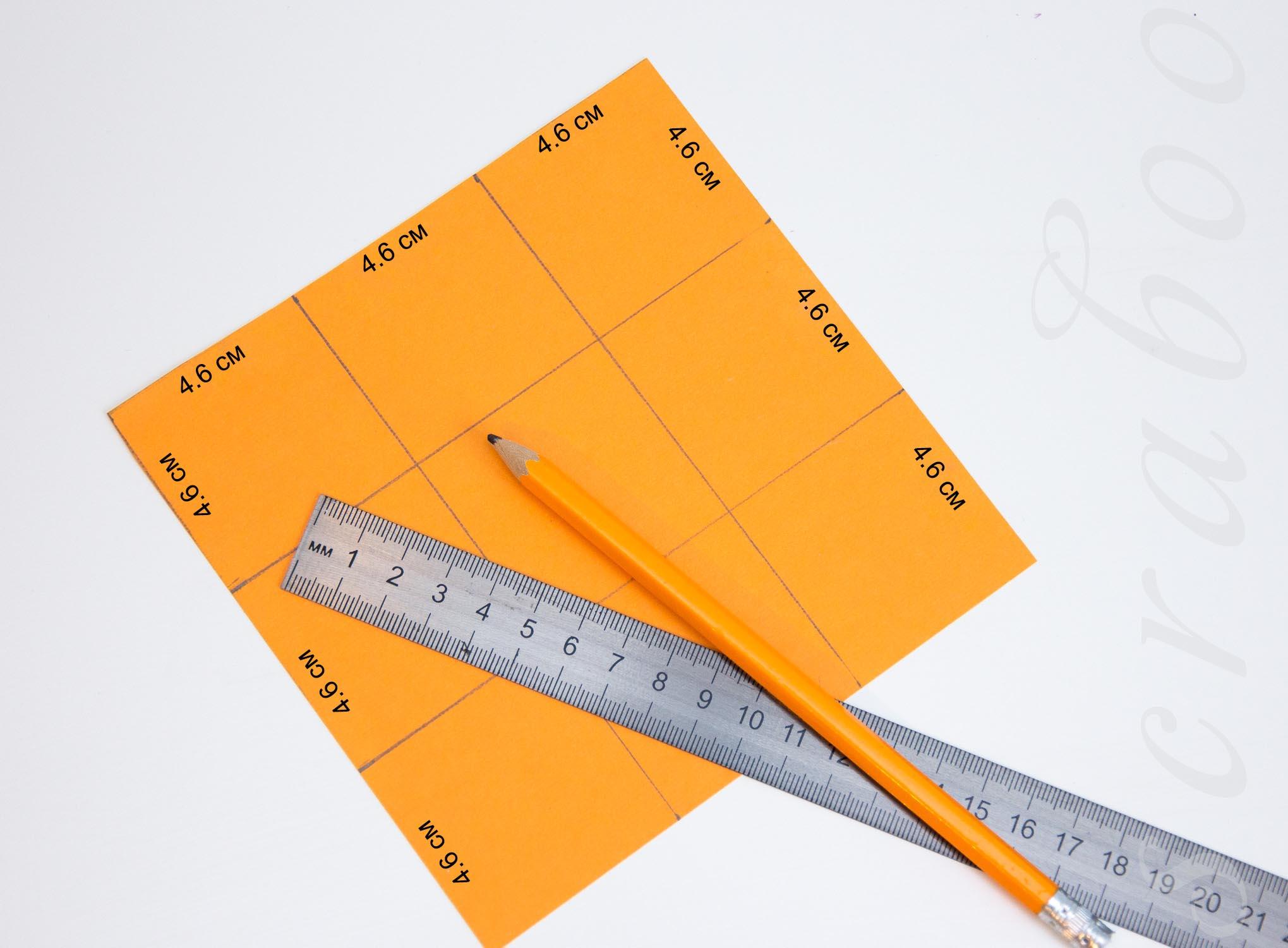Открытка с коробочкой из бумаги