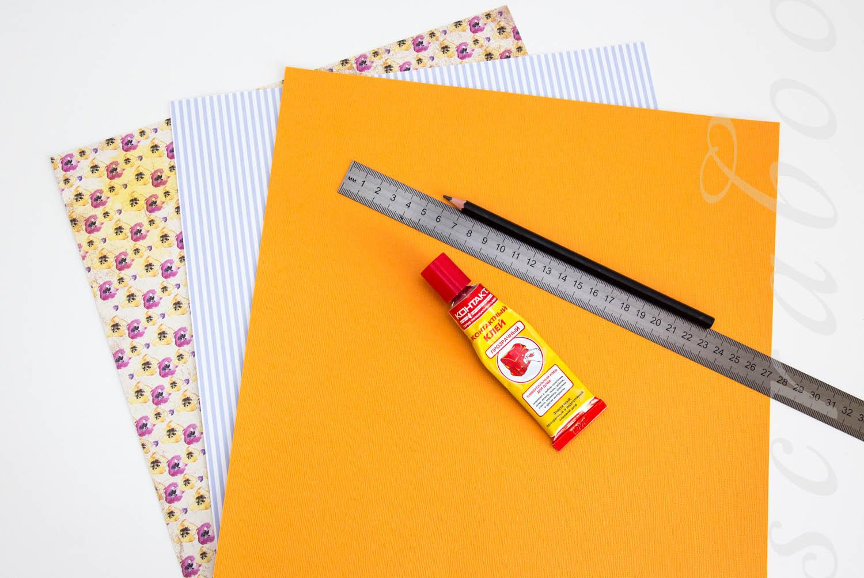 Корзинка для бумаги своими руками