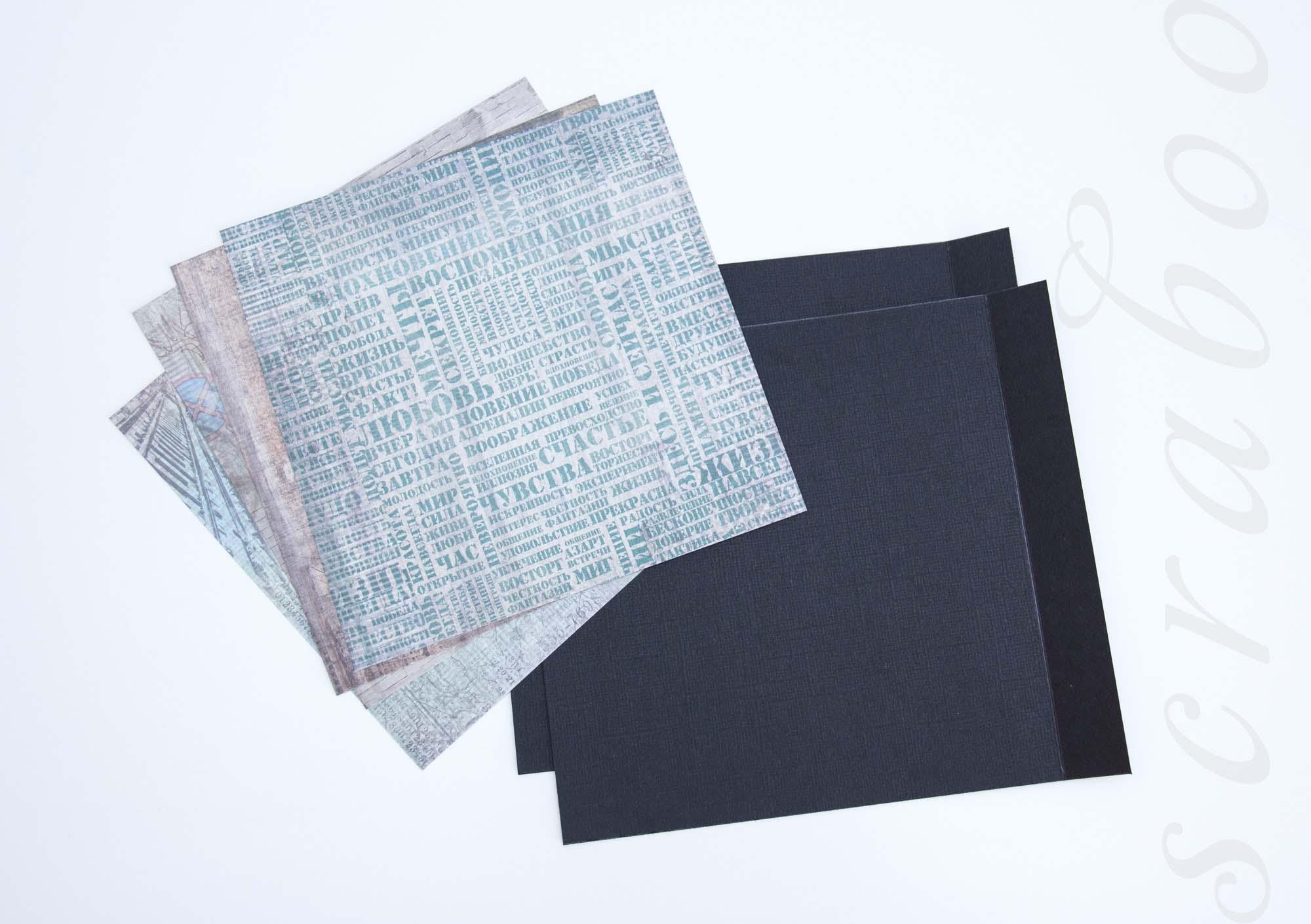Кардсток и дизайнерский картон