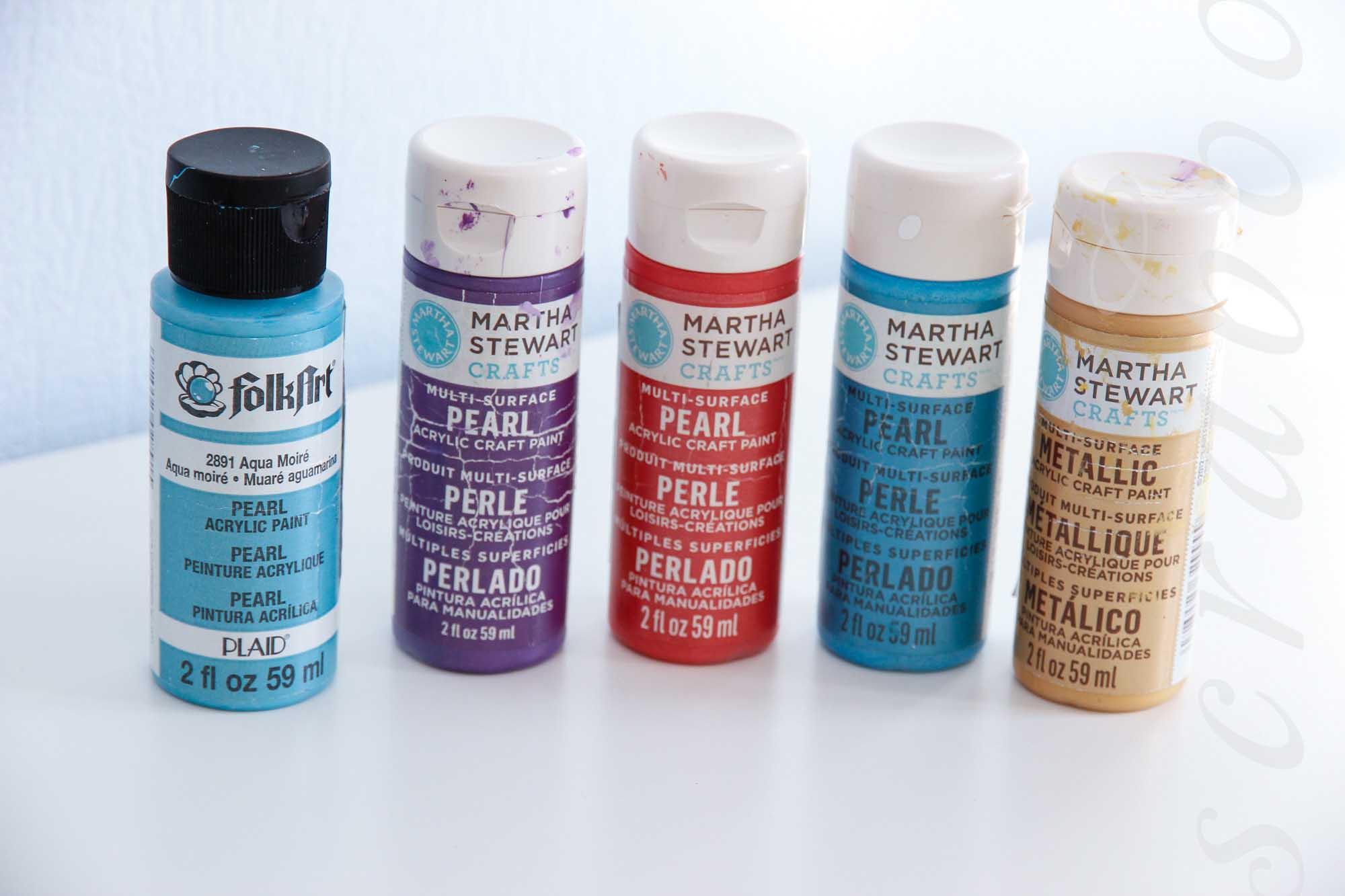 Акриловые краски для скрапбукинга