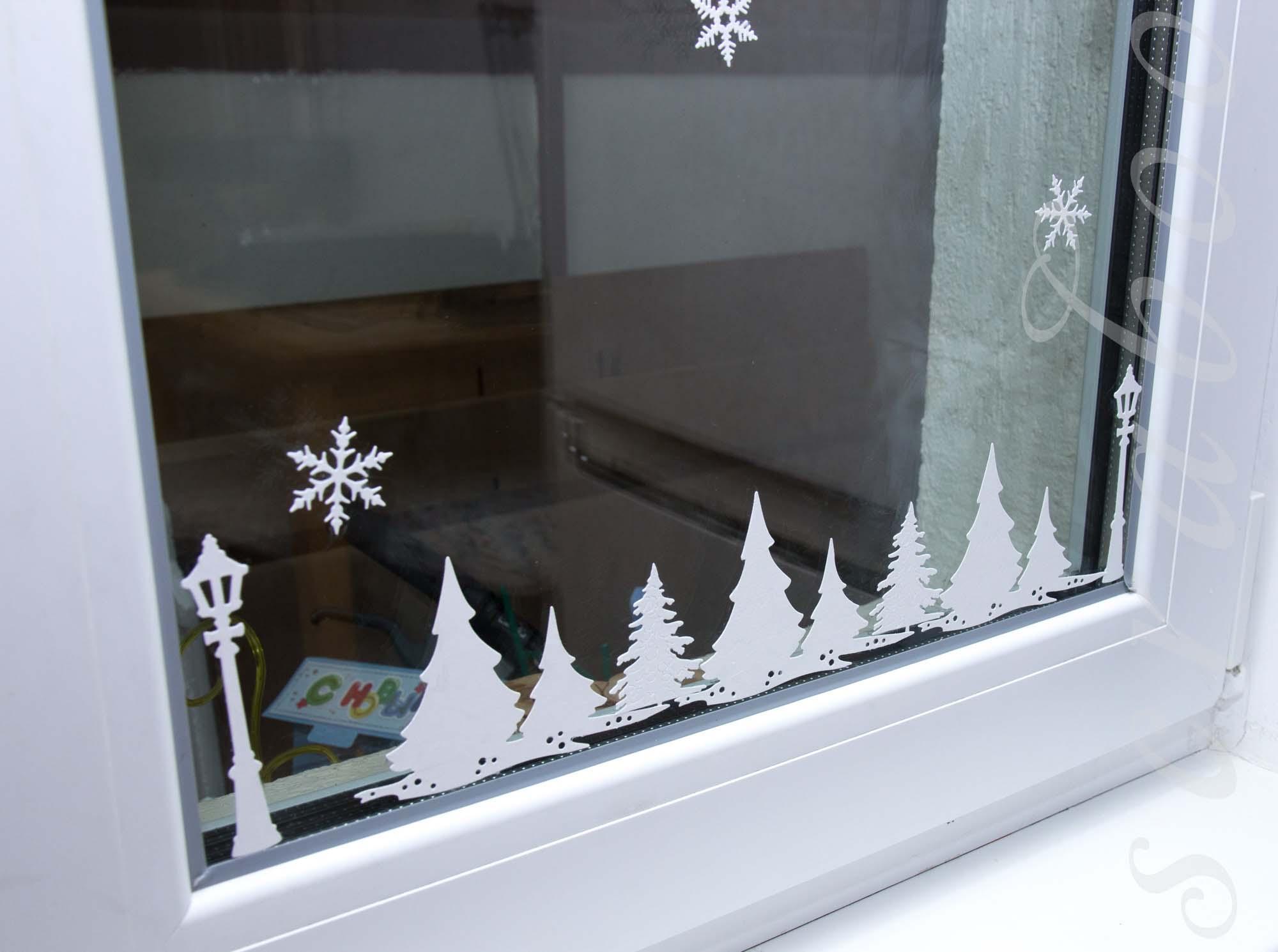 Украшаем окна вырубкой