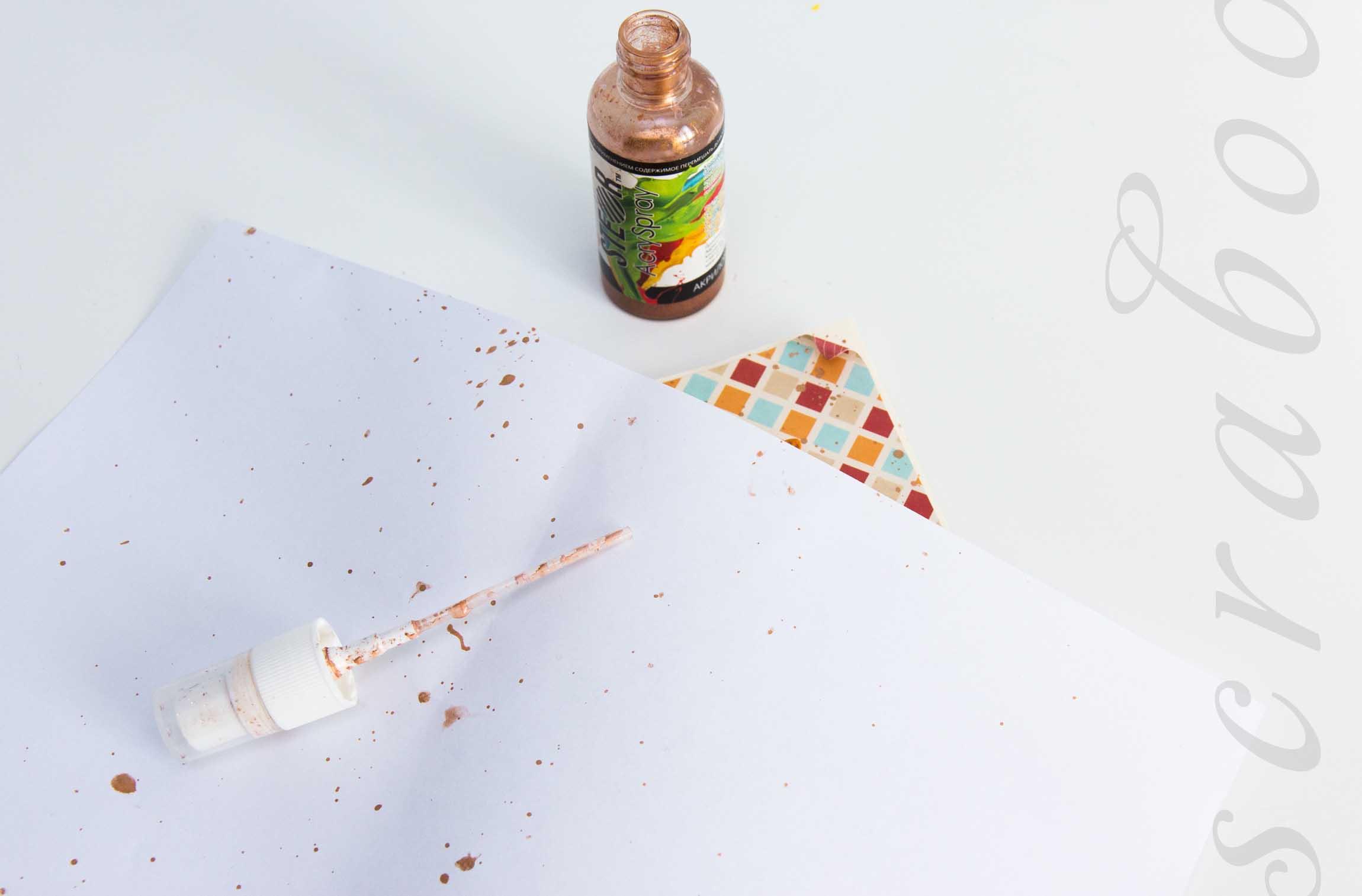 краска-спрей для скрапбукинга