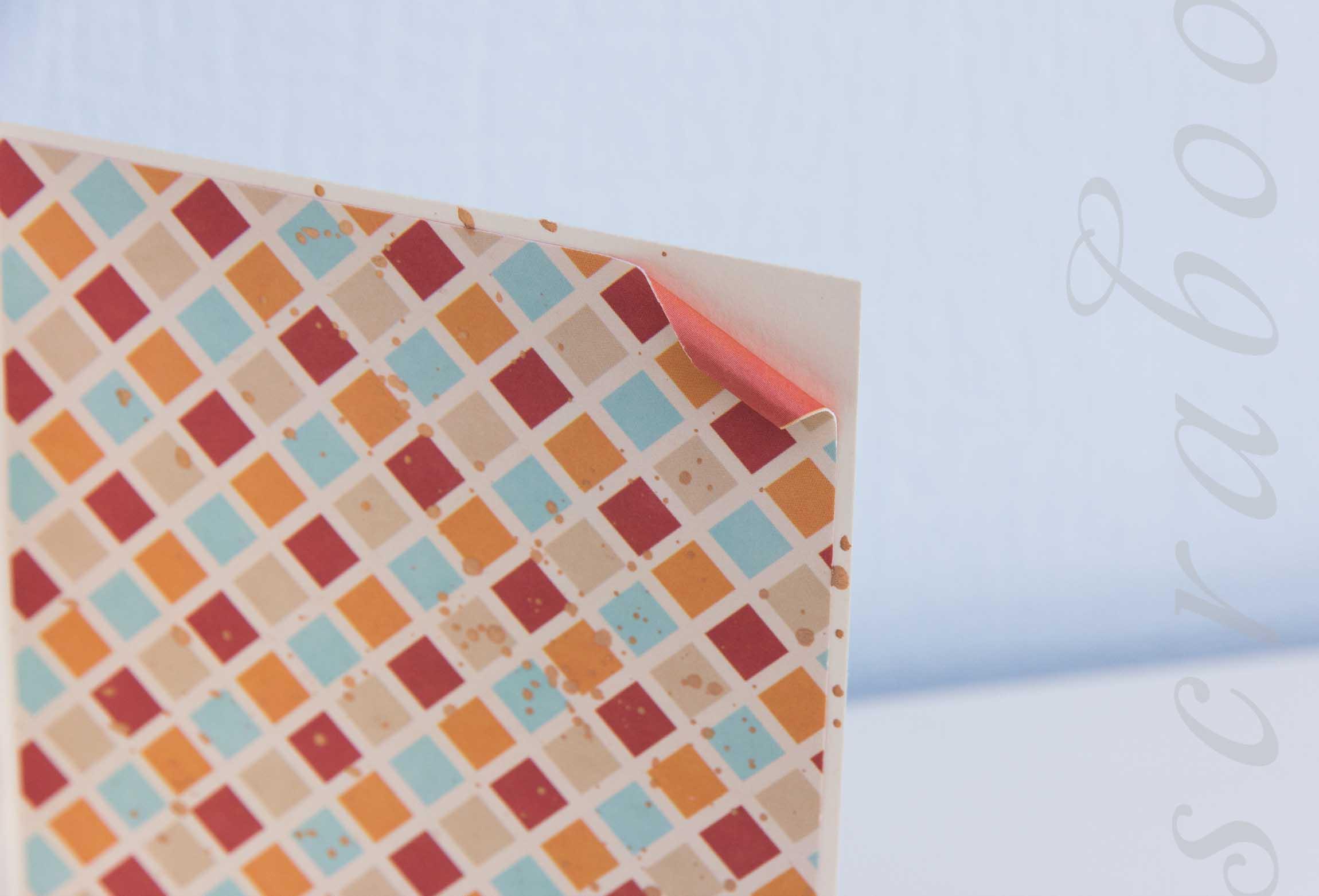 брызги на открытке